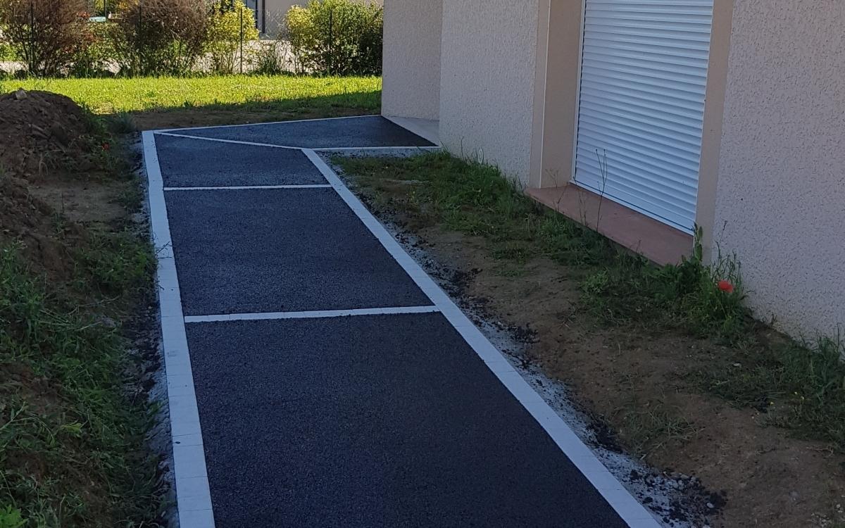 Allee En Beton Drainant réalisation allée de garage en béton drainant par entreprise