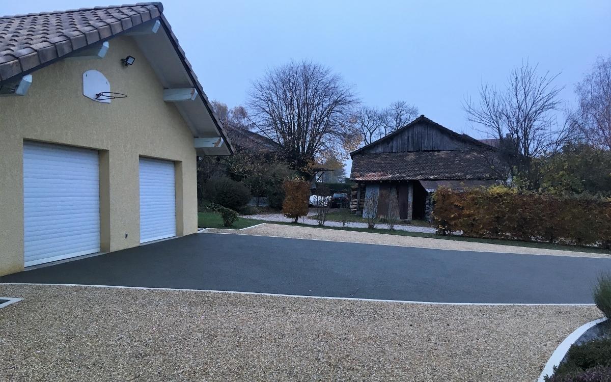 Allée De Garage En Béton Drainant aménagement allée de garage en alvéostar® et béton poreux