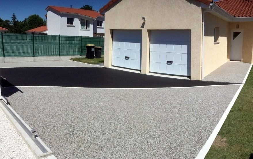 All e de garage en b ton d sactiv cournon d 39 auvergne for Beton allee garage