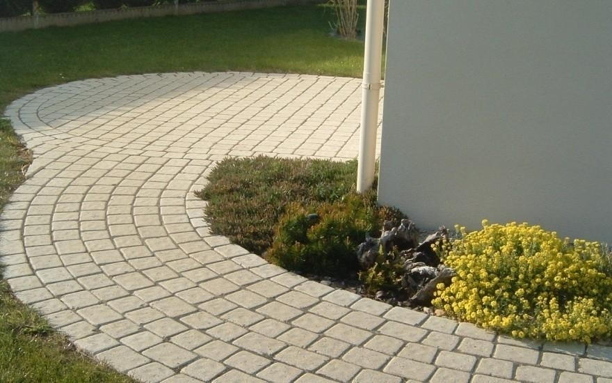 Exemple all e de jardin en pav la couture rives 2972 - Allee jardin ...