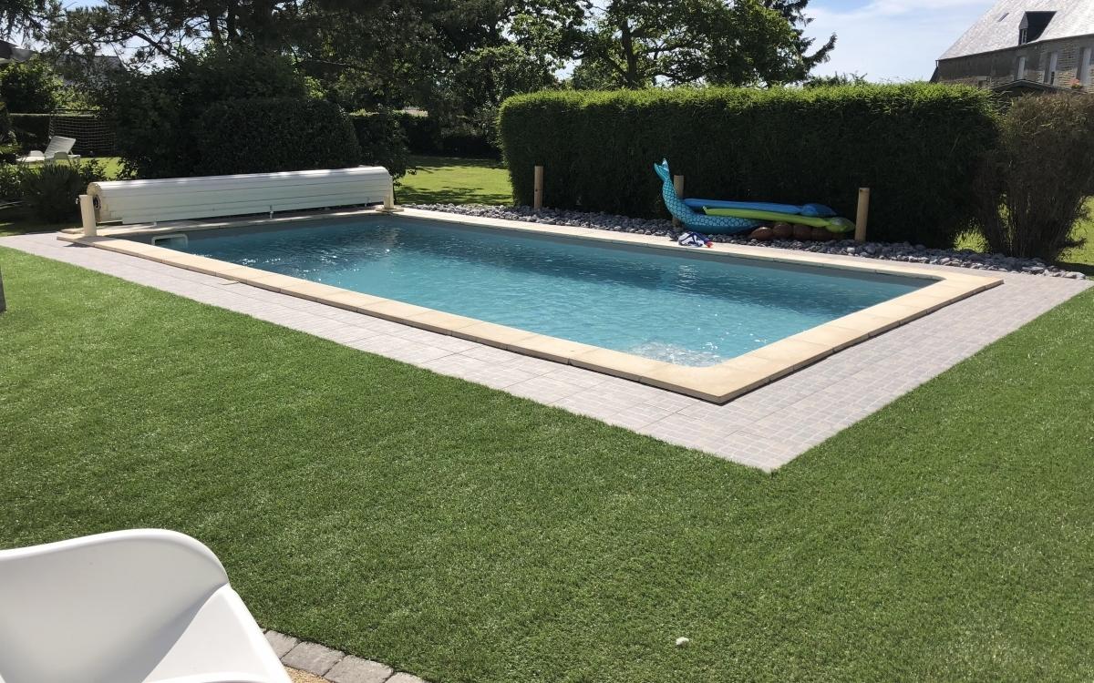 Aménagement Plage de piscine en Dmgreen® par Entreprise ...