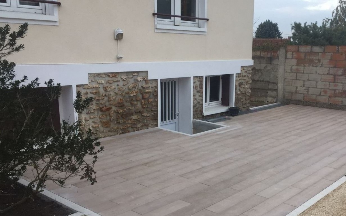 Exemple Terrasse terrasse en boibé® à evry