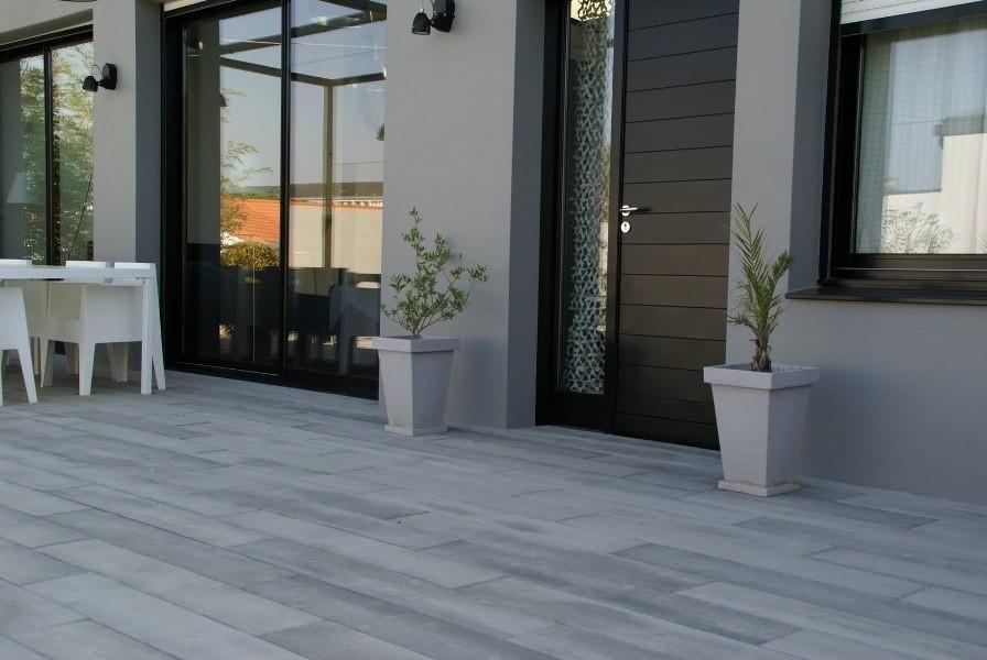Pour Votre Terrasse Ou Allee De Jardin Lames De Beton