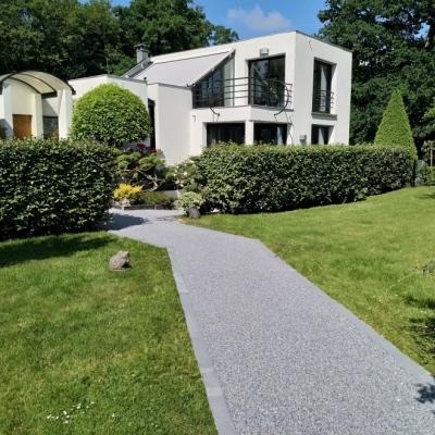 Daniel Moquet Amenagement Cour Allee De Jardin Et Terrasse En Enrobe