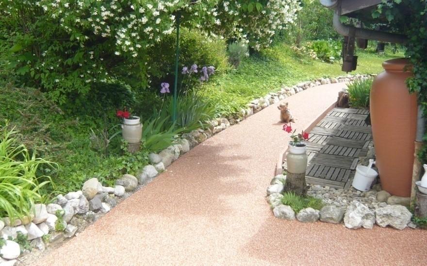 Am nagement all e de jardin en hydrostar r alis par for Amenagement jardin savoie