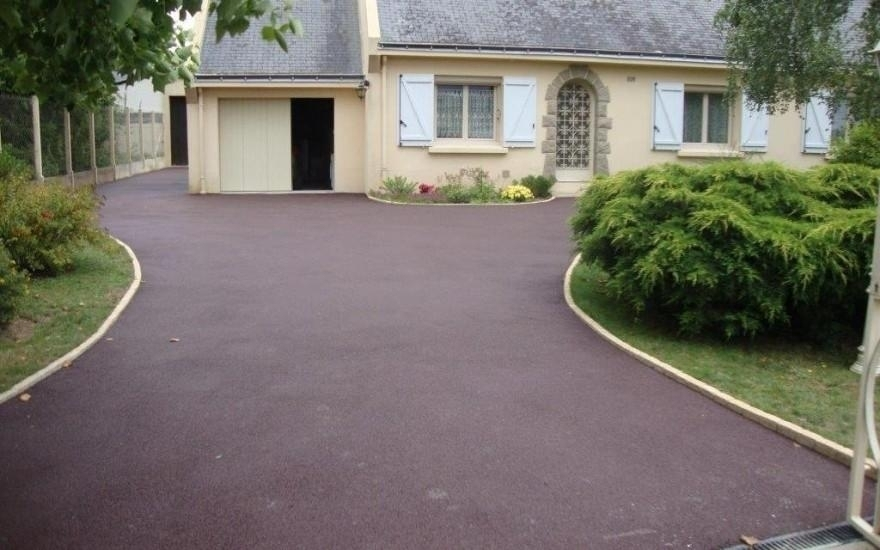 R alisation all e de garage en stardraine r alis par for Garage st herblain bourg