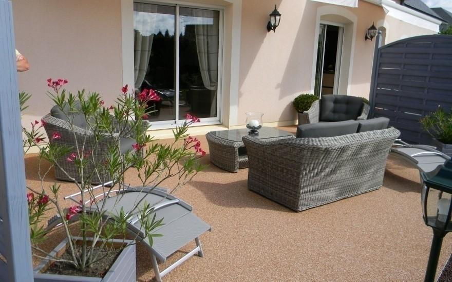 cr ation terrasse en hydrostar r alis par lepetit parn sur roc. Black Bedroom Furniture Sets. Home Design Ideas