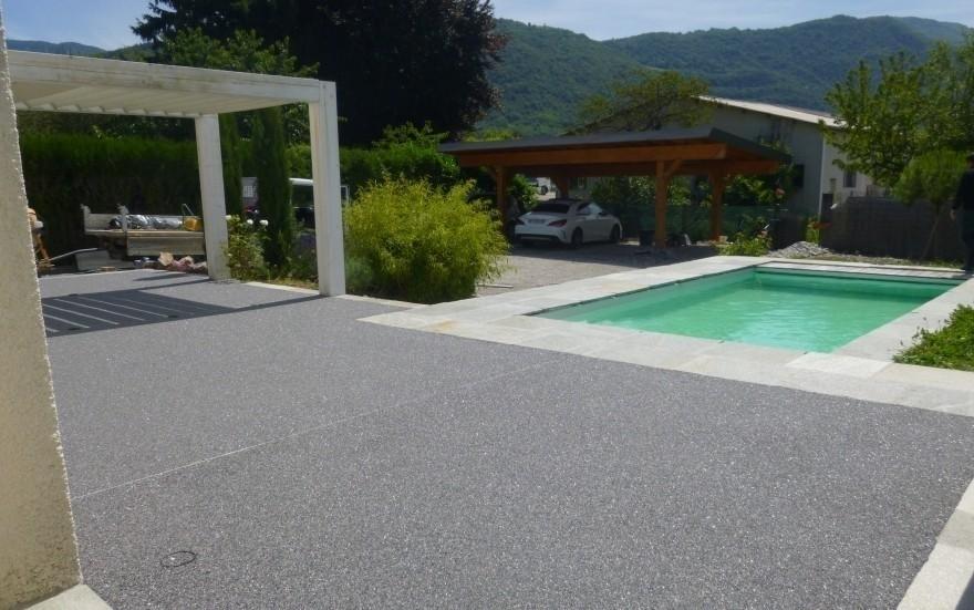 Exemple terrasse en hydrostar entreprise michellier en savoie for Terras boibe