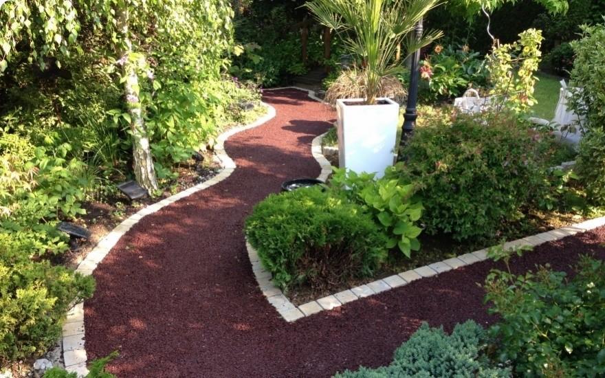 All e de jardin en stardraine entreprise delahaye avec paysagiste en val d oise for Allee de jardin carrelee