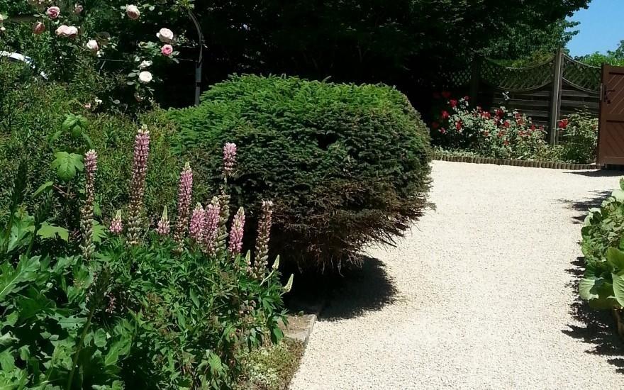 Exemple allee de jardin en gravistarr realise par jourdan for Creation allee de jardin 6 amenagement cour compiagne allee en enrobe sur