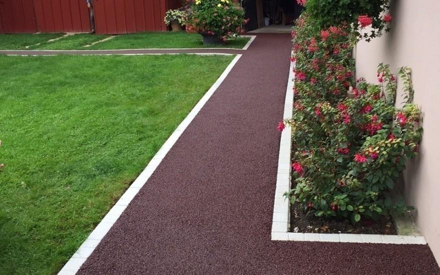 Exemple Allée de jardin en Stardraine® réalisé par Guilloux à Sens