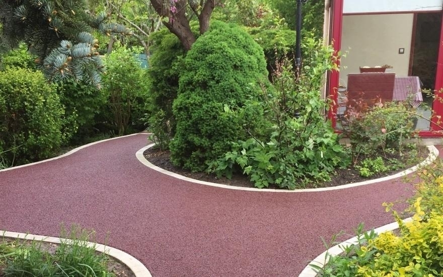 Conception all e de jardin en stardraine r alis par lecaplain champagne s - Creation allee de jardin ...
