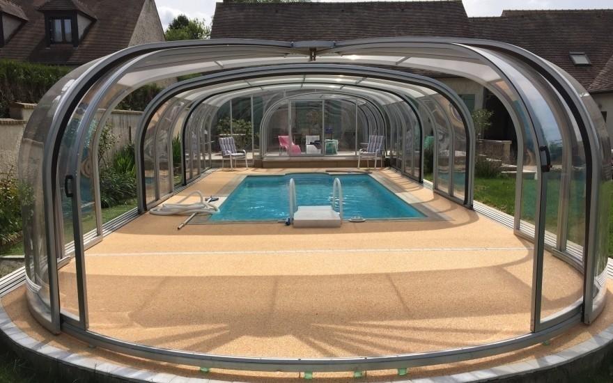Plage de piscine en hydrostar entreprise lecaplain for Piscine de conflans