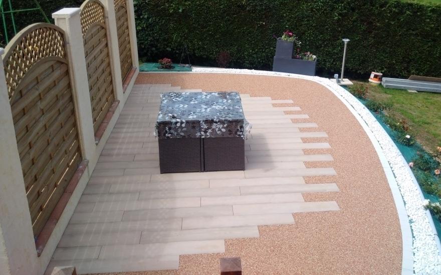 R alisation terrasse en boib et hydrostar r alis par - Realiser une terrasse en beton ...