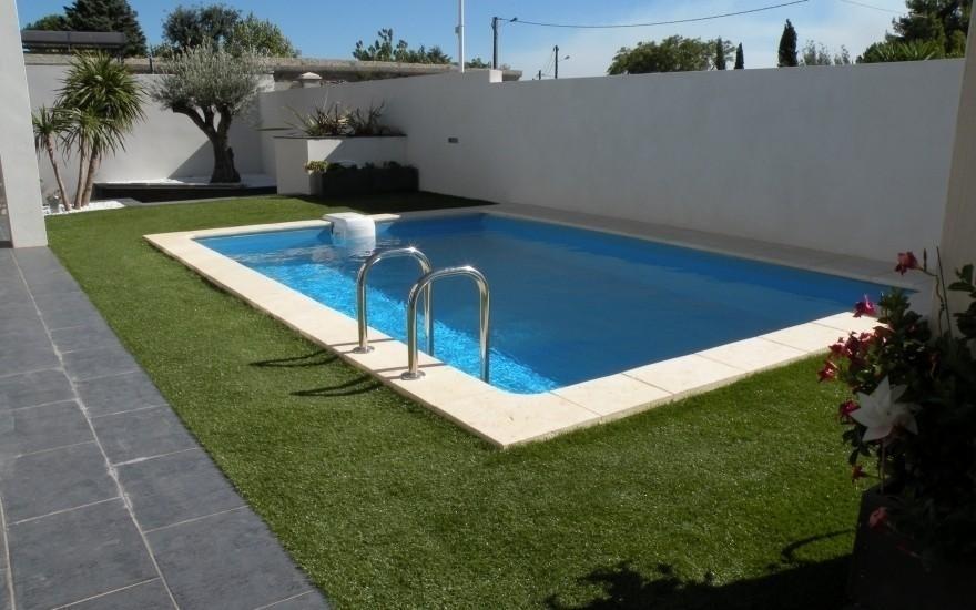 D co revetement autour de la piscine nimes 3811 - Revetement de sol castorama ...